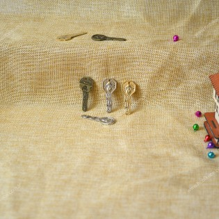 Dekoratif antik anahtar ( 10 adet )