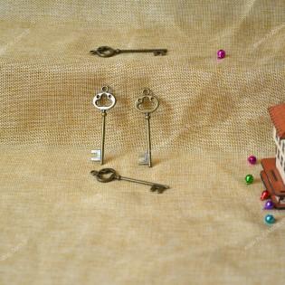 Dekoratif antik anahtar ( 5 adet )