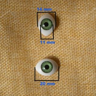 Plastik bebek gözü (11 mm)