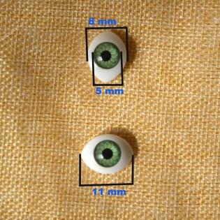 Plastik bebek gözü (5 mm)