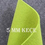 5 mm keçeler